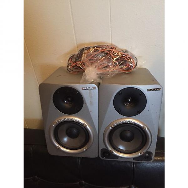 Custom M-Audio Studiophile DX4 studio monitors speakers active powered #1 image
