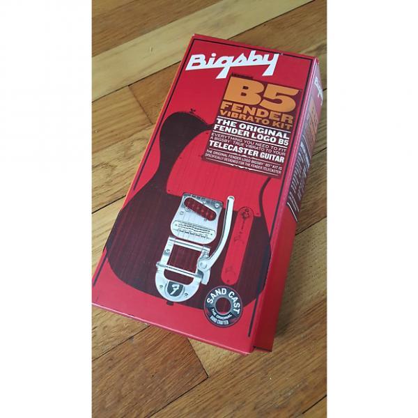 Custom Fender Telecaster Bigsby B5 Tremolo Free Shipping #1 image