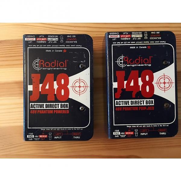 Custom PAIR #1 of Radial J48 Active DI #1 image