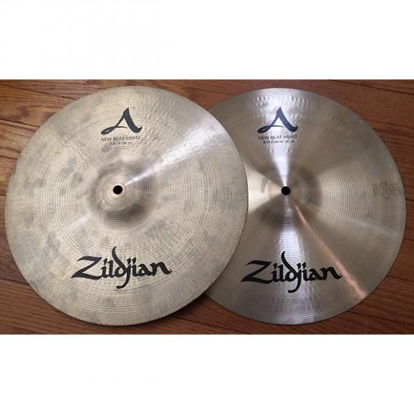 "Custom Zildjian A New Beat Hi Hat 14"" Cymbals 1034/1450 Grams #1 image"