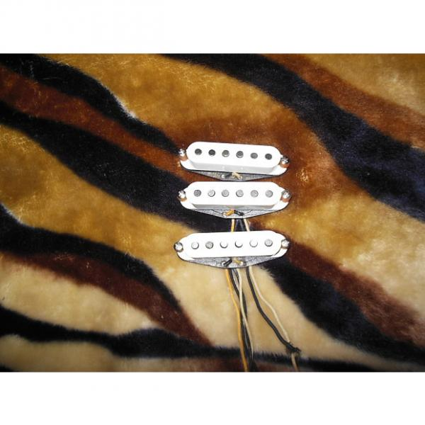 Custom Fender Custom Shop Texas Special Pickups for Strat 2000 White #1 image
