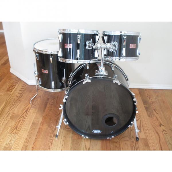 Custom Yamaha Vintage Drum Kit, Birch Shells, Japan Made, 1980s Excellent! #1 image
