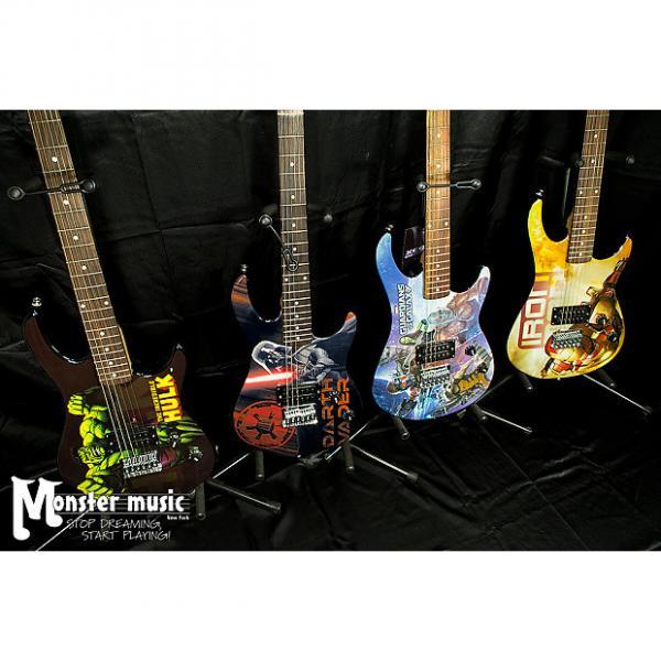 Custom Peavey Room full of Marvel Guitars 2016 - you get ALL FOUR guitars here. #1 image
