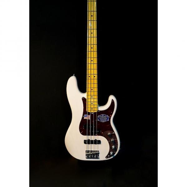 Custom Fender American Deluxe Precision Bass White Blonde #1 image