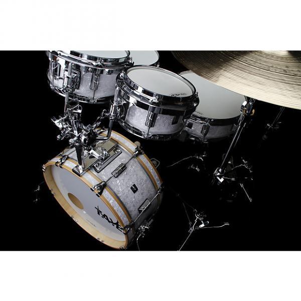 Custom New Taye Drums GoKit GK518F-SPK-WP Shell Pack In White Pearl Finish #1 image