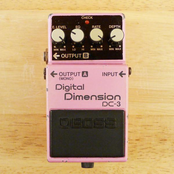 Custom Boss DC-3 Digital Dimension Chorus - Vintage Made In Japan Guitar Effects Pedal - Fair Condition. #1 image