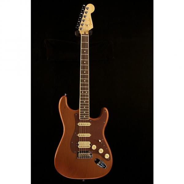 Custom Fender  Reclaimed Old Growth Redwood Stratocaster Red Wood #1 image