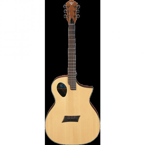 Custom Michael Kelly Forte Port Natural acoustic electric guitar - Port sound hole #1 image