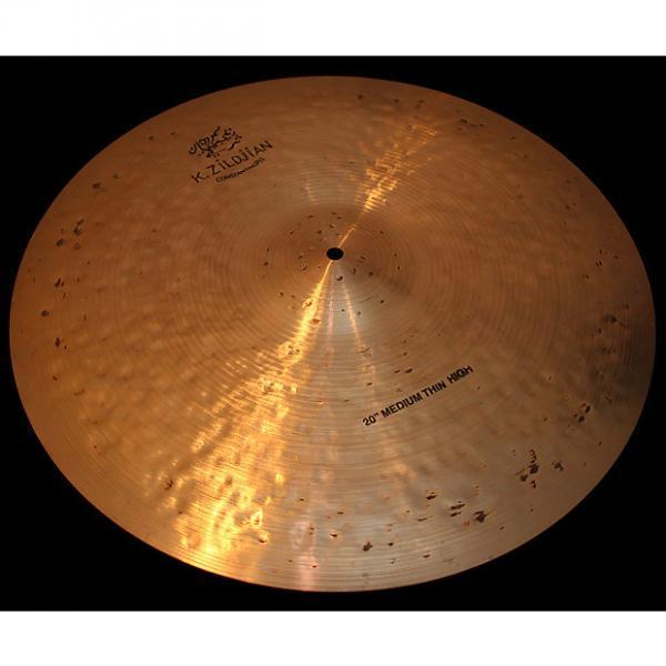 "Custom Zildjian K Constantinople 20"" Medium Thin Ride High K Con Cymbal (2095g) w/ VIDEO! #1 image"