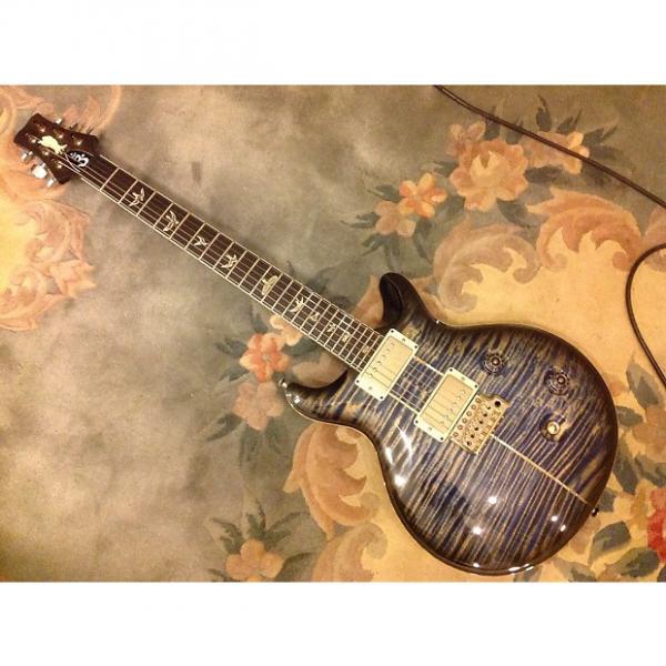 Custom Paul Reed Smith Santana Signature 2011 Faded Blue Jean #1 image