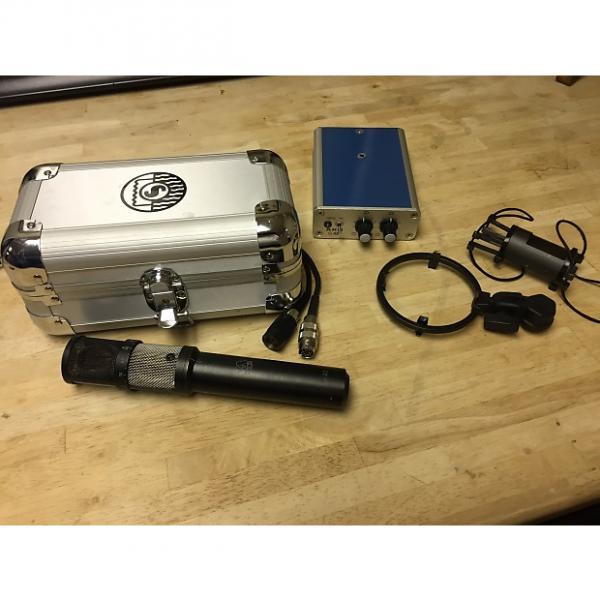 Custom AKG C422 Stereo Condensor Mic and S 42 Remote 1970s Aged Black Satin #1 image