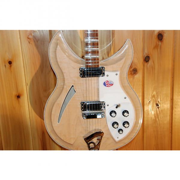 Custom Rickenbacker 381V69 2014 Mapleglo #1 image