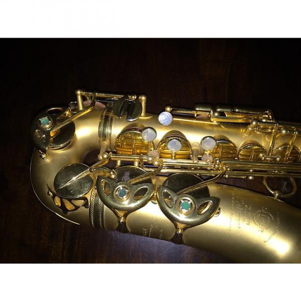 Custom Selmer Alto Saxophone Balanced Action 1935 24k Gold Playe #1 image