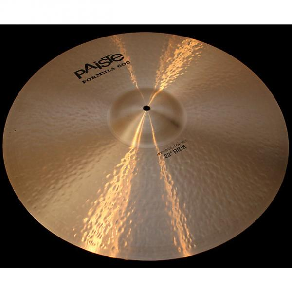 "Custom Paiste Formula 602 Modern Essentials 22"" Ride Cymbal (3035g) w/ VIDEO! #1 image"