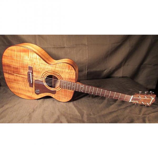 Custom Iseman OM / 000 Koa Guitar - Handmade in Hawaii from 'Fallen' Big Island Koa - USED Custom #1 image