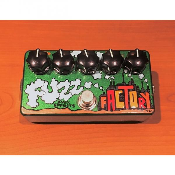 Custom Zvex Fuzz Factory Hand Painted Distortion Pedal (USED) #1 image