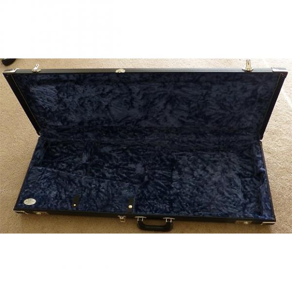 Custom Fender '69 Reissue Black Tolex Case - Rare Black & Blue! Metal Logo! #1 image
