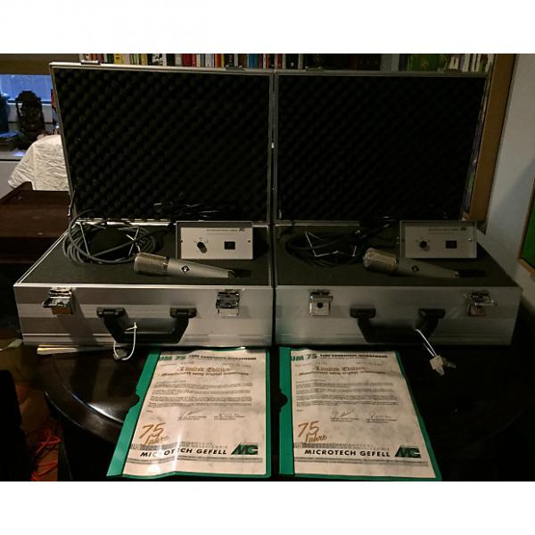 Custom Microtech Gefell UM75 Pair 2003 Serial Numbers 1&2 #1 image