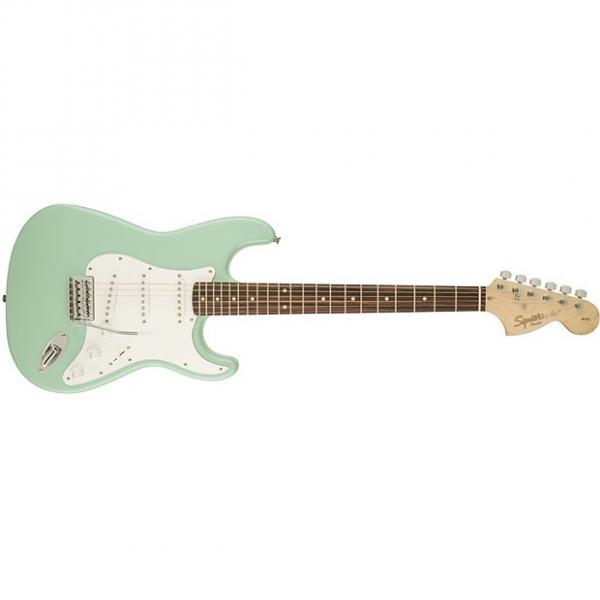 Custom Squier Affinity Stratocaster Surf Green #1 image