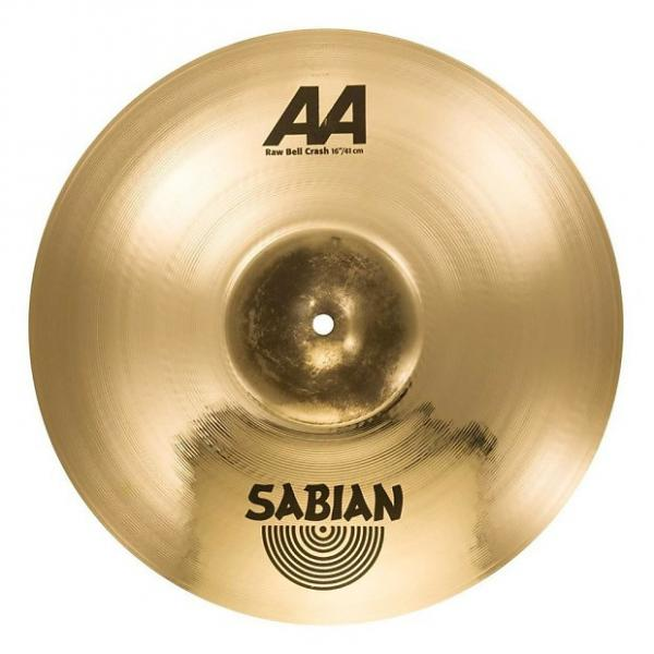 "Custom SABIAN 16"" AA Raw Bell Crash Brill Thn #1 image"
