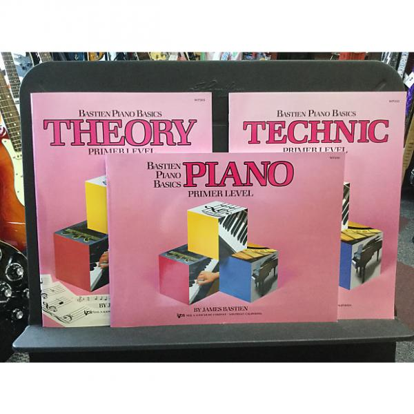 Custom Bastien Piano Basics Primer Level - Theory #1 image