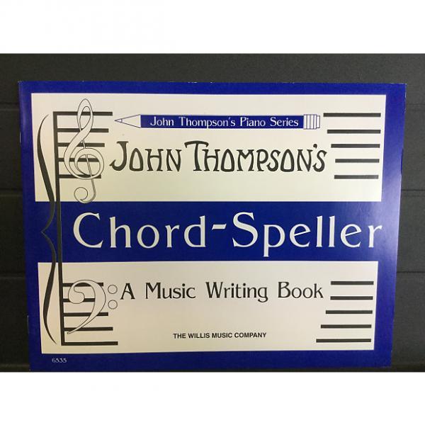 Custom John Thompson's Chord-Speller #1 image