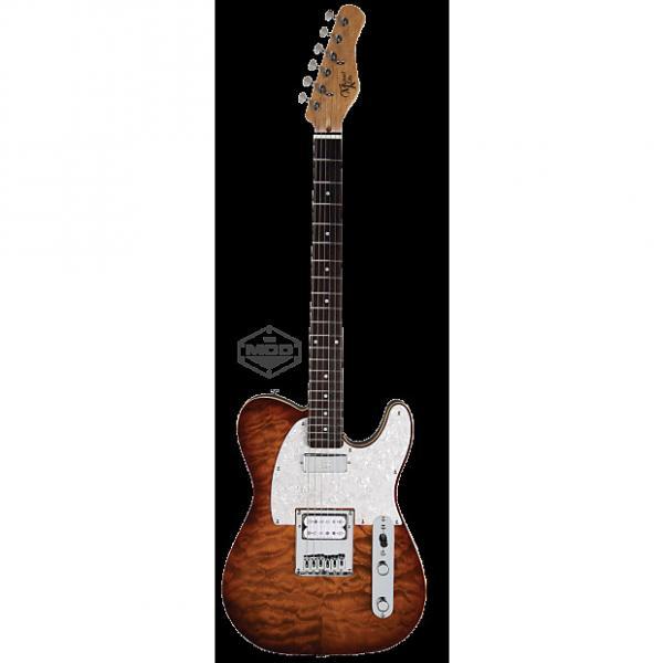 Custom Michael Kelly Mod Shop 1955 Caramel Burst electric guitar NEW - Seymour Duncan pickups #1 image