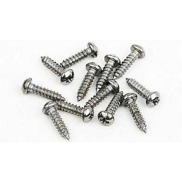 """Custom Fender screws - 3x3/8"""" - Nickel #1 image"""