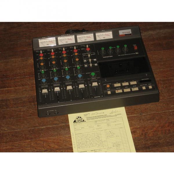 Custom Tascam 244 Portastudio w/90 Day Warranty, Pro Refurbed Vintage MIJ TEAC 4 Track #1 image