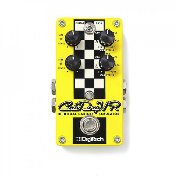 Custom DigiTech CabDryVR Dual Cabinet Simulator in stock #1 image