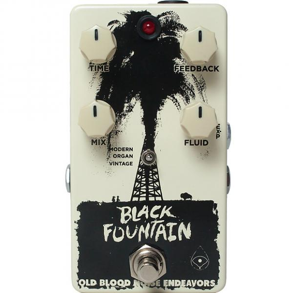 Custom Old Blood Noise Endeavors Black Fountain Delay #1 image