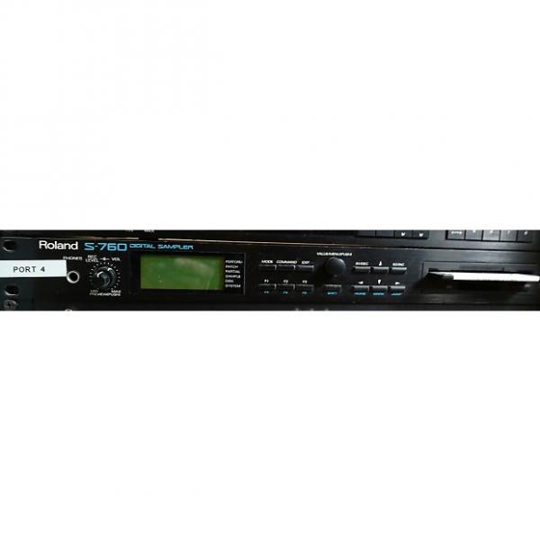 Custom Roland  S-760 w/OP-760-01 Optical board, DA-400 4CH D to A, RC-100, MU-1& 32Mb of RAM installed #1 image