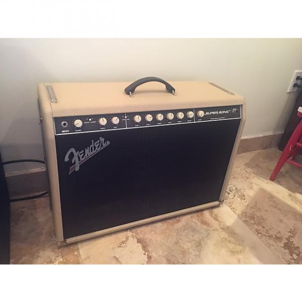 Custom Fender  Supersonic  2010 Blonde #1 image