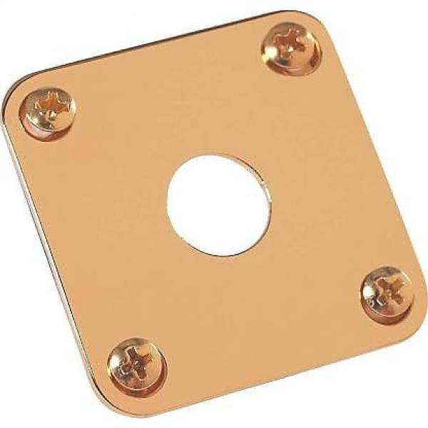 Custom Gibson Gold Jack Plate #1 image