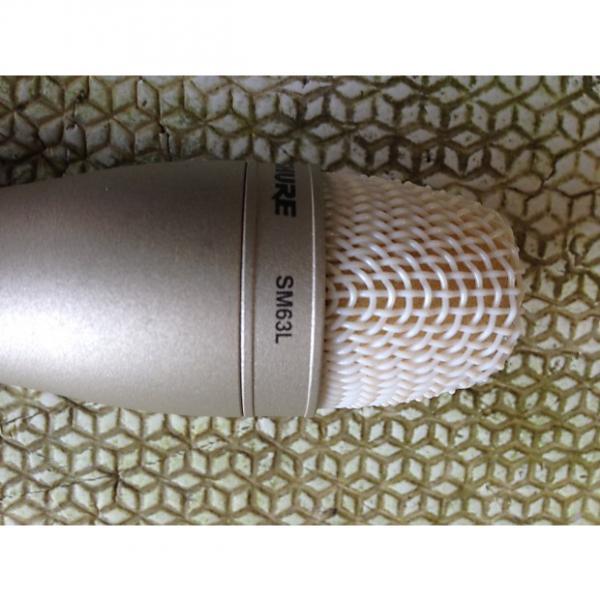 Custom Shure SM63L Silver #1 image