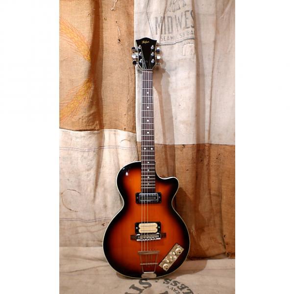 Custom Hofner Model 126  1960's Sunburst #1 image