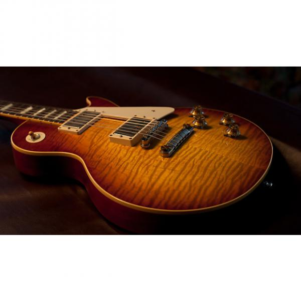 Custom Gibson 1959 Les Paul Reissue  2012 Ice Tea Burst #1 image
