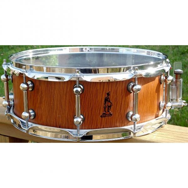 Custom Brady Sheoak Block Satin Snare Drum*5x14*2002* #1 image