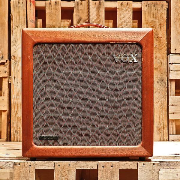 Custom Vox AC15H1TVL Limited Edition 50th Anniversary 'TV Front' Guitar Combo (468/500) 2007 Mahogany #1 image