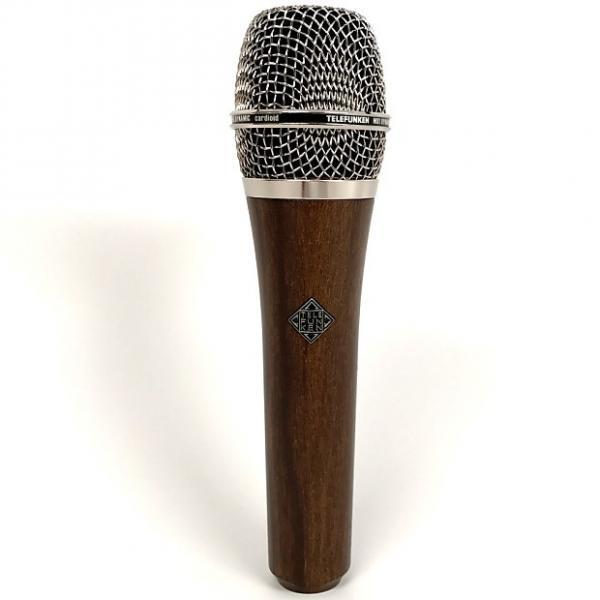 Custom Telefunken M81 Universal Dynamic Cardioid Studio Vocal Microphone Chrome Cherry #1 image