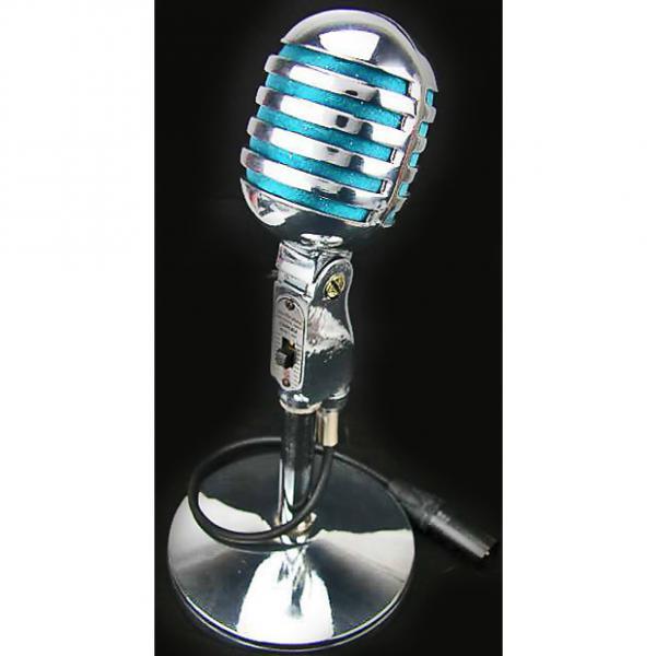 Custom Electro Voice EV 950 Cardax Crystal Microphone chrome #1 image