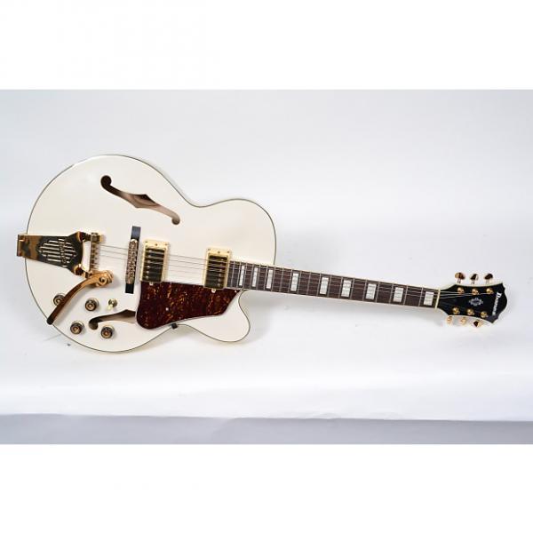 Custom Ibanez Artcore AF75TDGIV AF75 WHITE Hollowbody Electric Guitar-Ivory #1 image