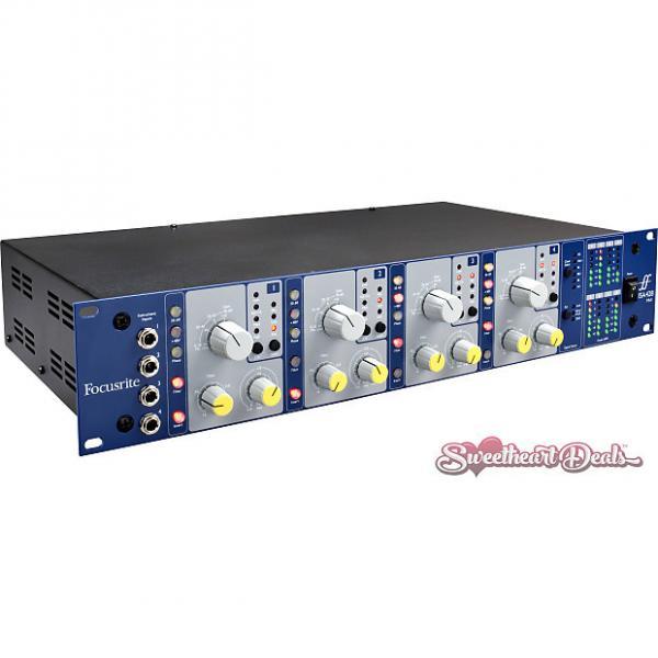 Custom Focusrite ISA428 MkII  Transformer Based 4 Channel Microphone Preamp - Mic Pre #1 image