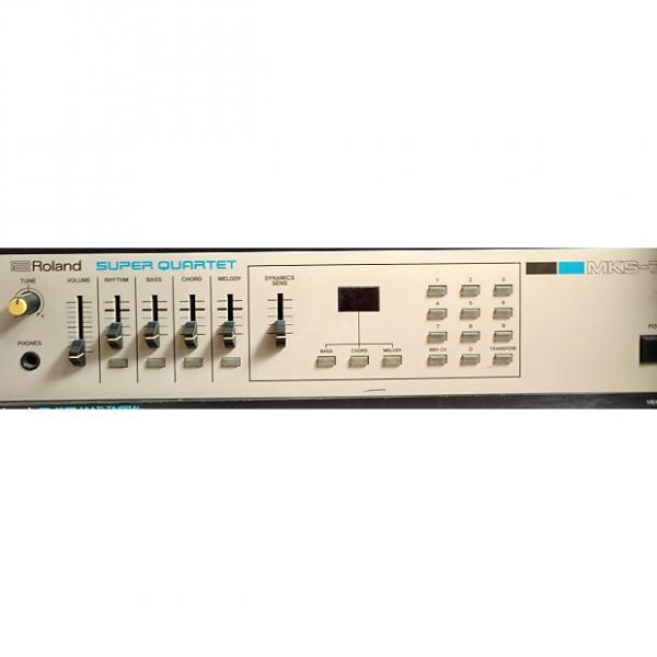 "Custom Roland MKS-7 Super Quartet ""White Studio used only"" #1 image"