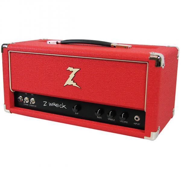 Custom Dr. Z Z-Wreck Head - Half Power Switch - Red #1 image