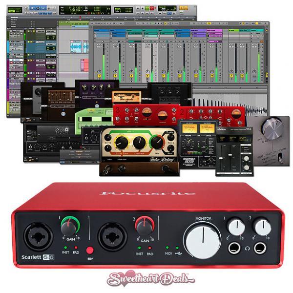 Custom Focusrite Scarlett 6i6 (2nd Gen) USB Audio Interface with Pro Tools First #1 image