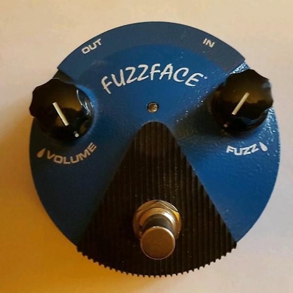 Custom Dunlop FuzzFace  Blue #1 image