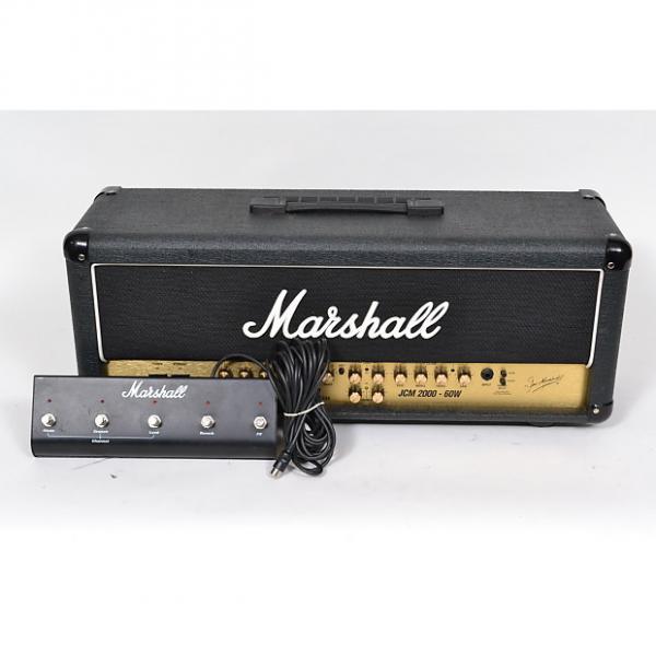 Custom Marshall JCM 2000 TSL 60 Watt AMP HEAD W/FOOTSWITCH GREAT SHAPE! #1 image