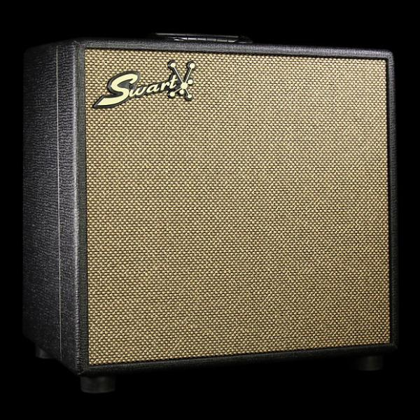 Custom Used Swart Space Tone Reverb Combo Amplifier Dark Tweed #1 image