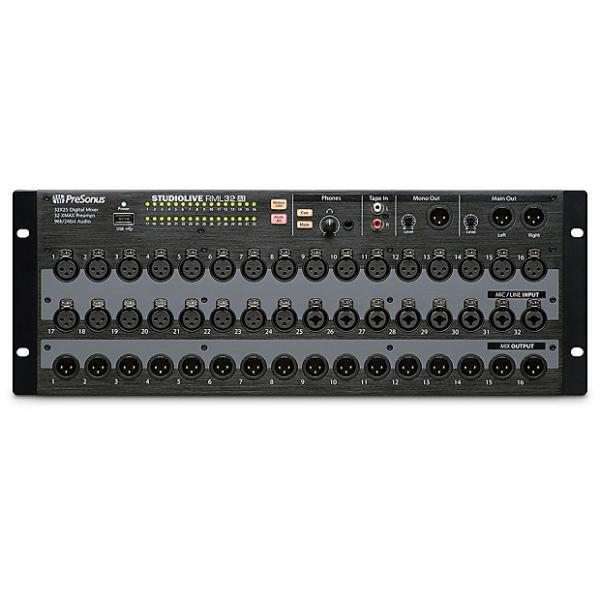 Custom Presonus - RML32AI 32-Channel, Touch Software Controlled, Rack-Mount Digital Mixer #1 image
